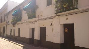 The last remaining communal house or casa de vecinos in original condition in San Bernardo, opposite the church.