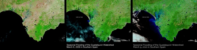 flooding satellite